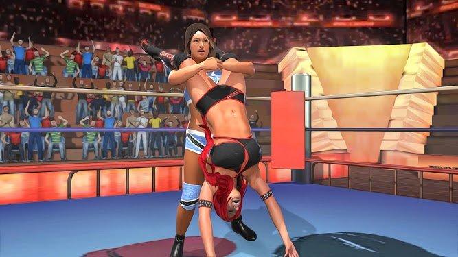 坏女孩街摔跤冠军赛图2