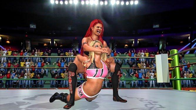 坏女孩街摔跤冠军赛图1